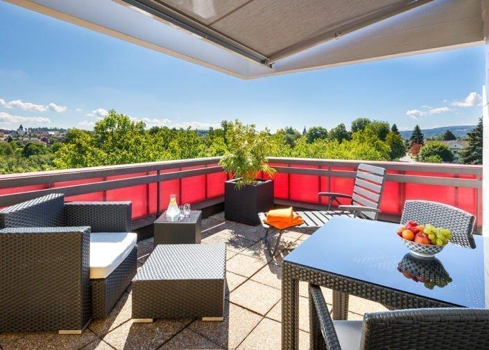 Sky Suite Terrasse welcome homes, Glattbrugg