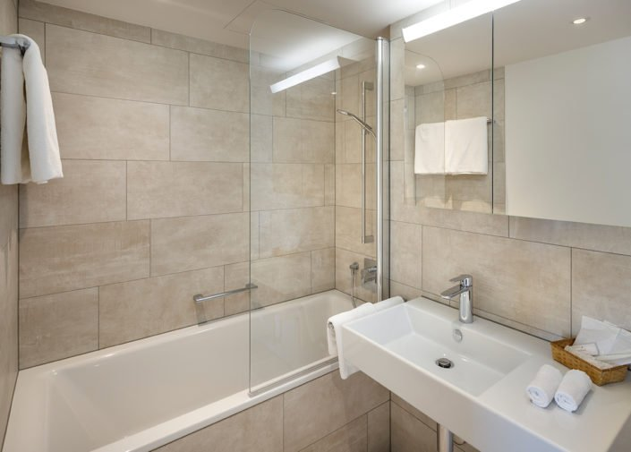 Badezimmer Hotel Suiten welcome homes, Glattbrugg