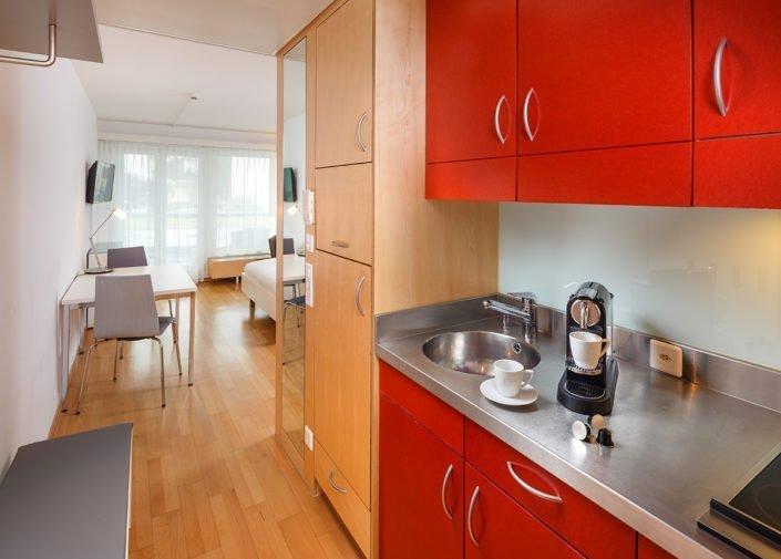 Teeküche Single Apartment welcome homes, Glattbrugg