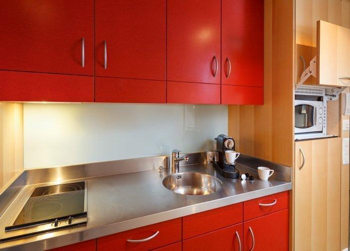 Teeküche Double Apartment welcome homes, Glattbrugg