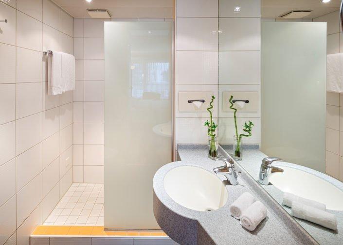 Badezimmer Business Apartments welcome homes, Glattbrugg