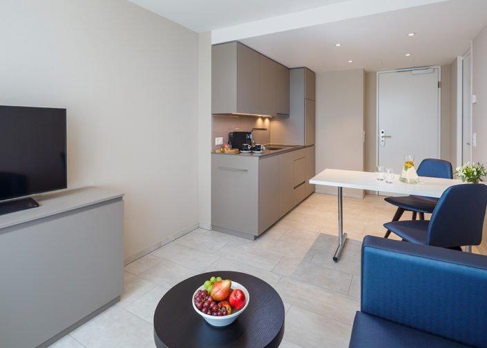 Classic Suite Wohnbereich welcome homes, Glattbrugg