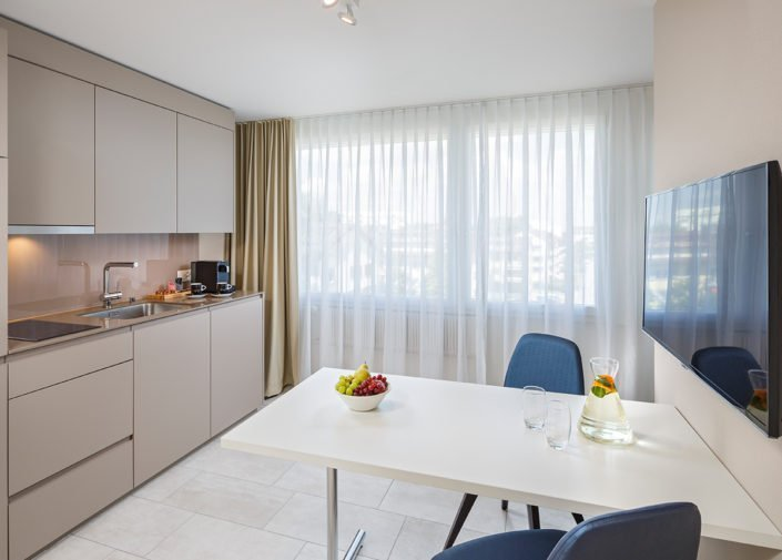 Classic Suite Teeküche welcome homes, Glattbrugg