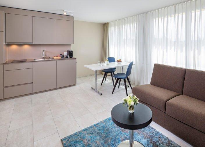 Business Suite Wohnbereich welcome homes, Glattbrugg