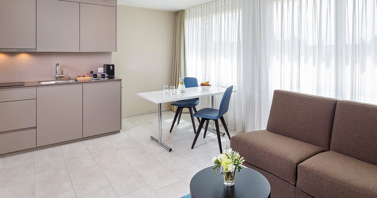Wohnbereich Business Suite welcome homes, Glattbrugg